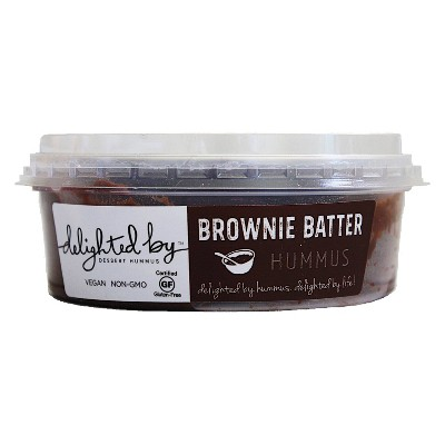 Delighted By Brownie Batter Hummus - 8oz