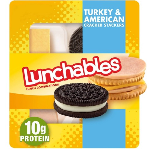 Oscar Mayer Lunchables Turkey & American Cracker Stackers - 3.4oz - image 1 of 4