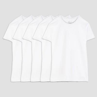 9e0e0ba1f5e3bc Fruit of the Loom Men s 5pk Coolzone Crew-Neck T-Shirt - White