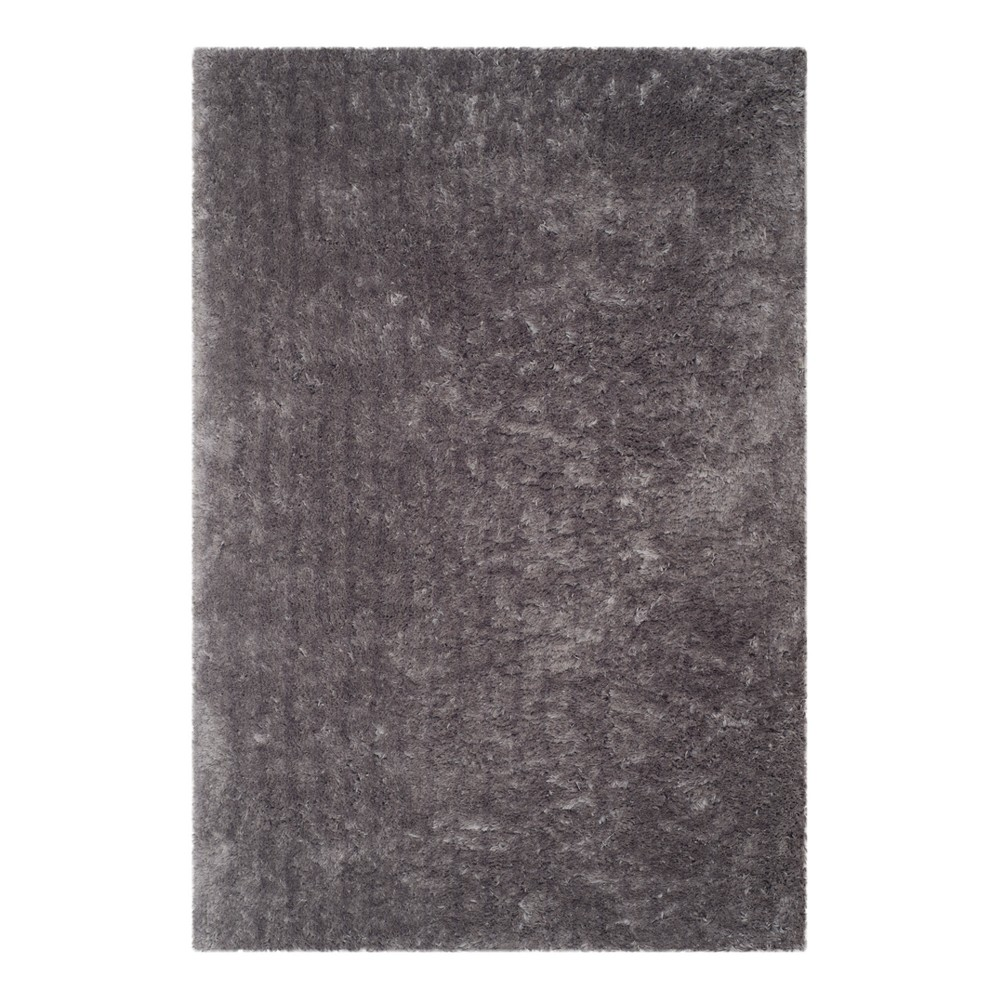 Gray Solid Tufted Area Rug 5'X7' - Safavieh