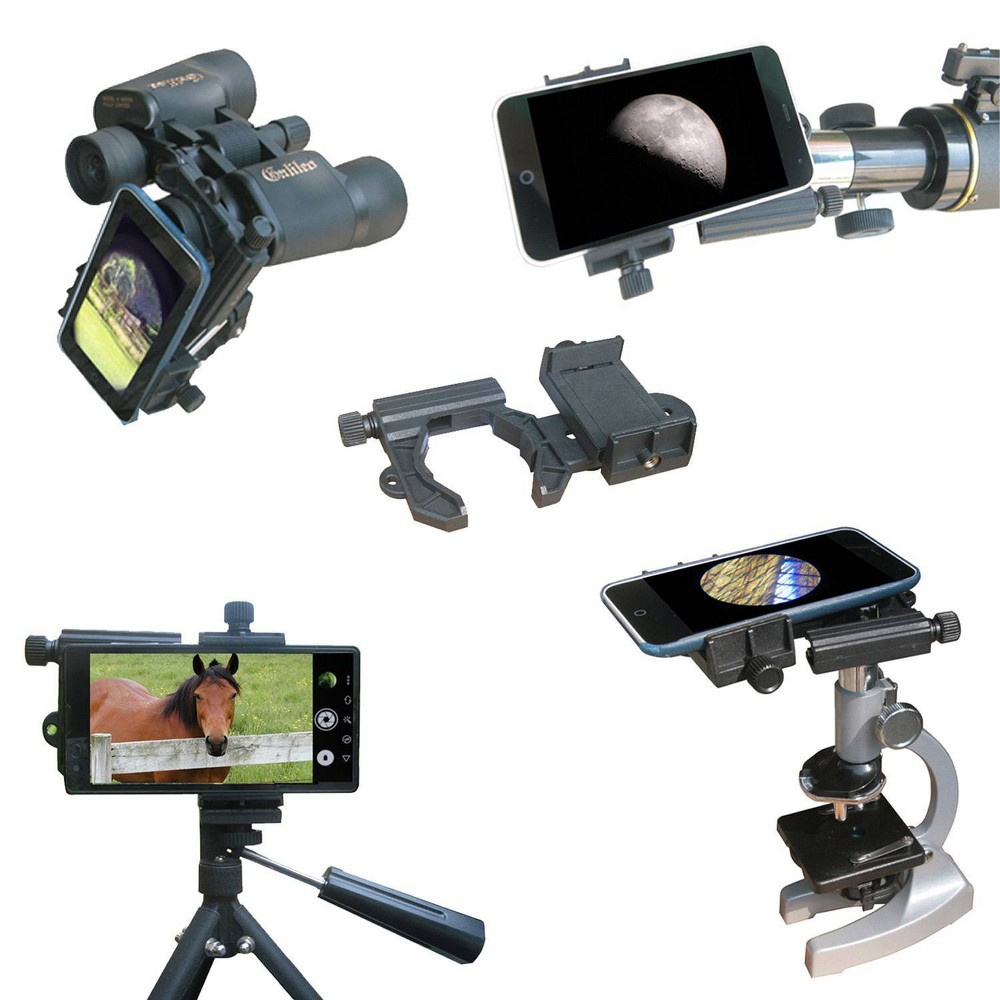 Image of Galileo SmartPhone Optics Adapter - Black