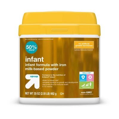Infant Formula with Iron Milk-Based Powder - up & up™