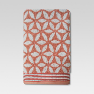 Floral Bath Towel Coral - Threshold™