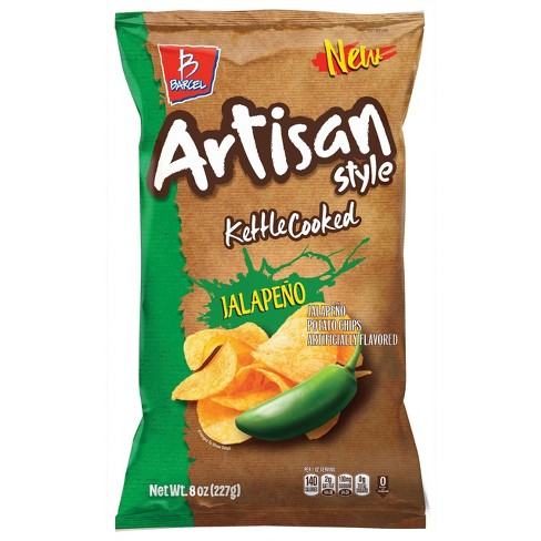 Barcel Artisan Style Jalapeno Kettle Cooked Chips - 8oz - image 1 of 2