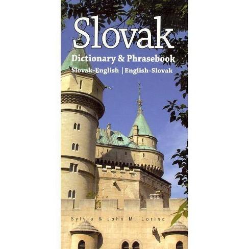 Slovak-English/English-Slovak Dictionary & Phrasebook - (Hippocrene Dictionary & Phrasebook) (Paperback) - image 1 of 1