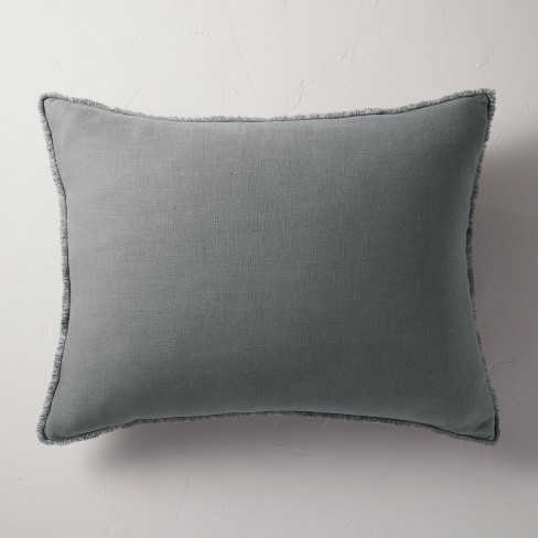 King Euro Heavyweight Linen Blend Throw Pillow - Casaluna™ - image 1 of 4
