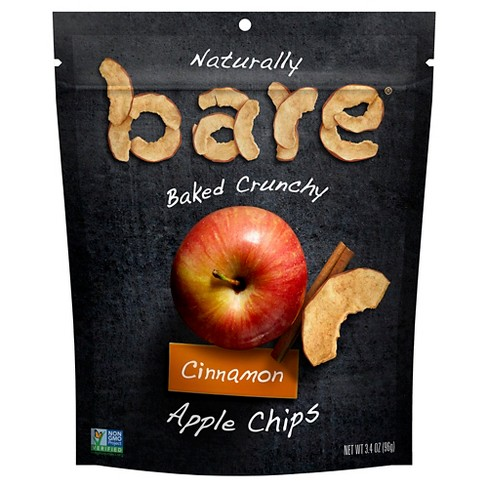 Bare Baked Crunchy Cinnamon Apple Chips - 3.4oz - image 1 of 3