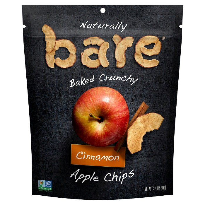 Bare Baked Crunchy Cinnamon Apple Chips - 3.4oz - image 1 of 3
