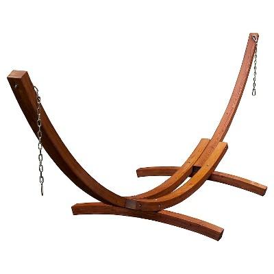 15 Foot Russian Pine Hardwood Arc Frame - Brown