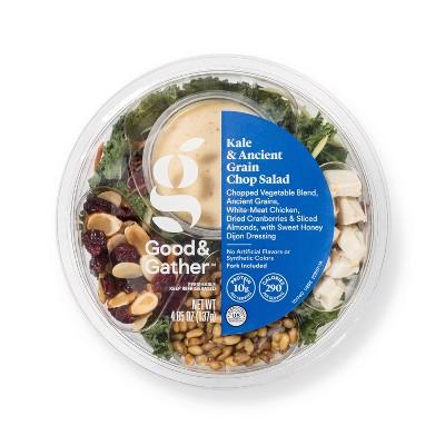 Kale & Ancient Grain Chop Salad Bowl - 5oz - Good & Gather™