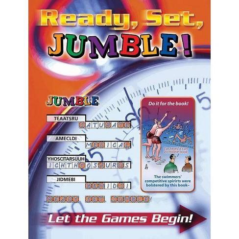 Ready, Set, Jumble! - (Jumbles) by  Henri Arnold & Bob Lee & Mike Argirion (Paperback) - image 1 of 1