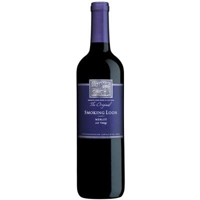 Smoking Loon Merlot Red Wine - 750ml Bottle