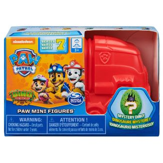 PAW Patrol Dino Rescue Collectible Blind Box Mini Figure and Mystery Dinosaur (Style May Vary)