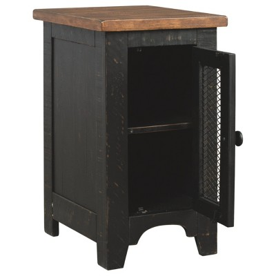 Valebeck Chair Side End Table Black/Brown - Signature Design by Ashley