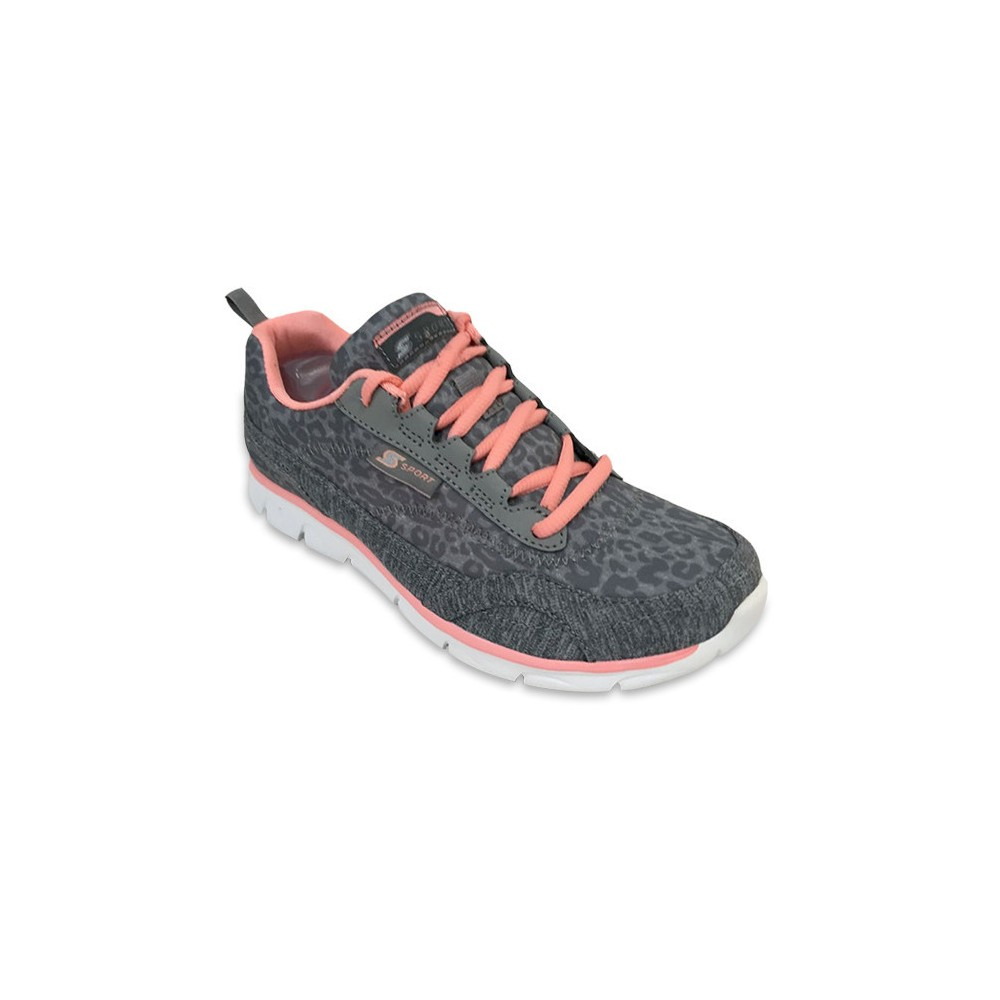 Women's S Sport By Skechers Fall 2016 Performance Athletic Shoes - Gray 9.5