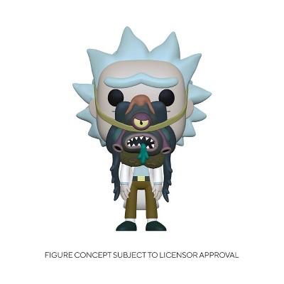 Funko POP! Animation: Rick & Morty - Rick with Glorzo