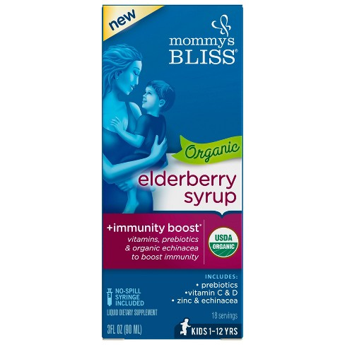 Mommy's Bliss Elderberry Syrup - 3 fl oz - image 1 of 4