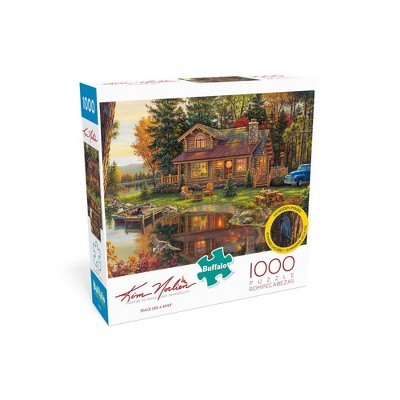 Buffalo Games Kim Norlien: Peace Like a River Jigsaw Puzzle - 1000pc