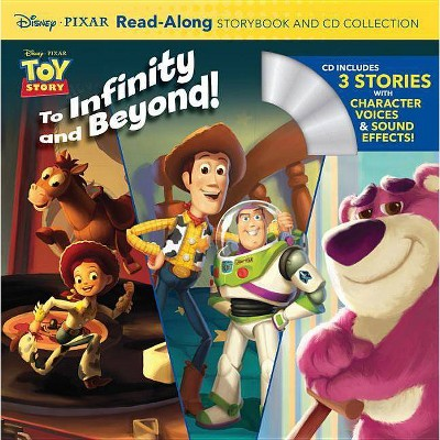 Toy Story ReadAlong Storybook and CD Collection : To Infinity and Beyond! - by Disney (Paperback)