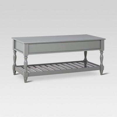 Harlow Entryway Bench - Gray - Threshold™