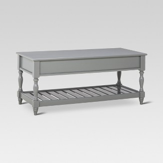 Harlow Entryway Bench - Gray - Threshold™