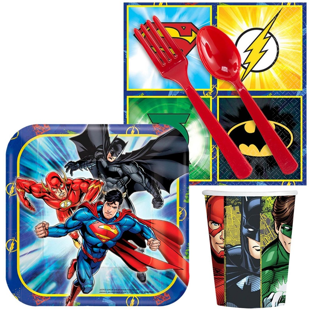16ct Justice League Snack Pack, Multi-Colored