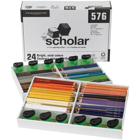 Prismacolor Scholar Pencil Classroom Set, Assorted Colors, set of 576 - image 1 of 1