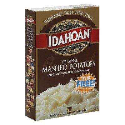 Idahoan Original Mashed Potatoes 13.75 oz