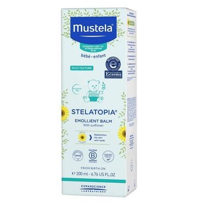 Mustela Stelatopia Emollient Fragrance Free Baby Balm for Eczema Prone Skin - 6.76 fl oz