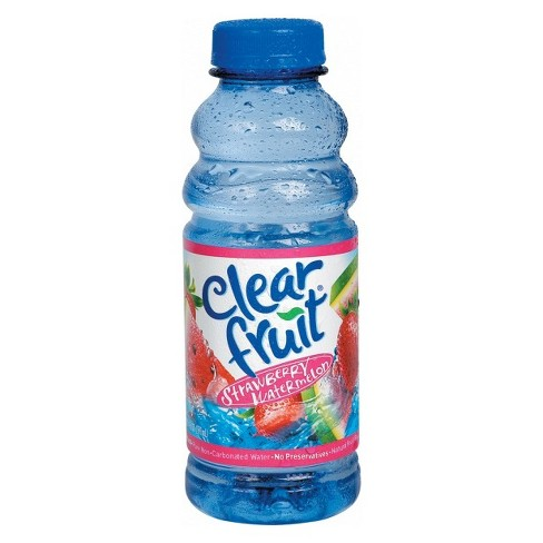 Clearfruit Strawberry Watermelon Flavored Water - 20 fl oz Bottle - image 1 of 1