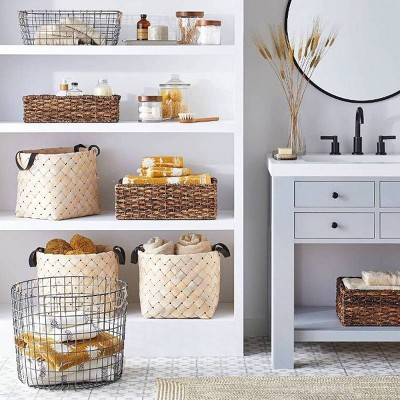 Decorative Functional Storage with Stylish Baskets Collection
