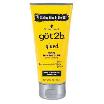 Got2b Glued Styling Spiking Hair Glue - 6oz