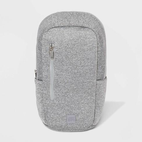 Zip Closure Sling Pack - JoyLab™ Gray - image 1 of 3