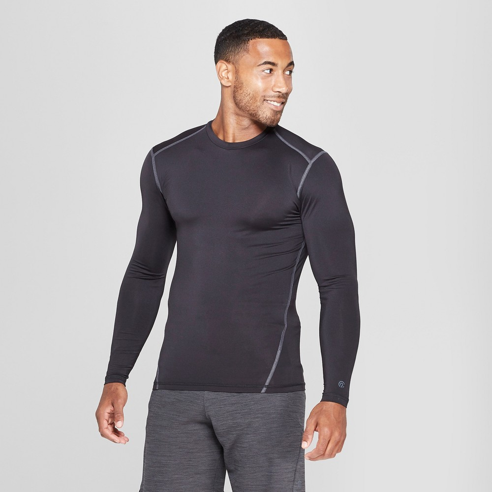 Men's Long Sleeve Compression Shirt - C9 Champion Black Xxl