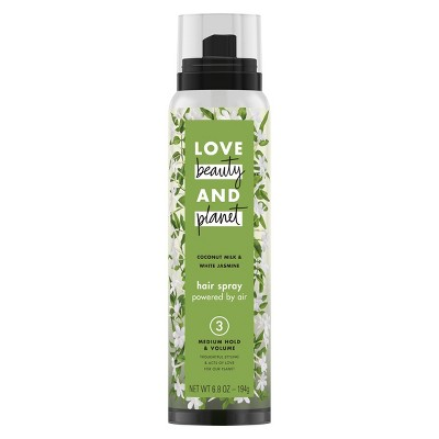 Hair Spray: Love Beauty & Planet Medium Hold & Volume Hair Spray