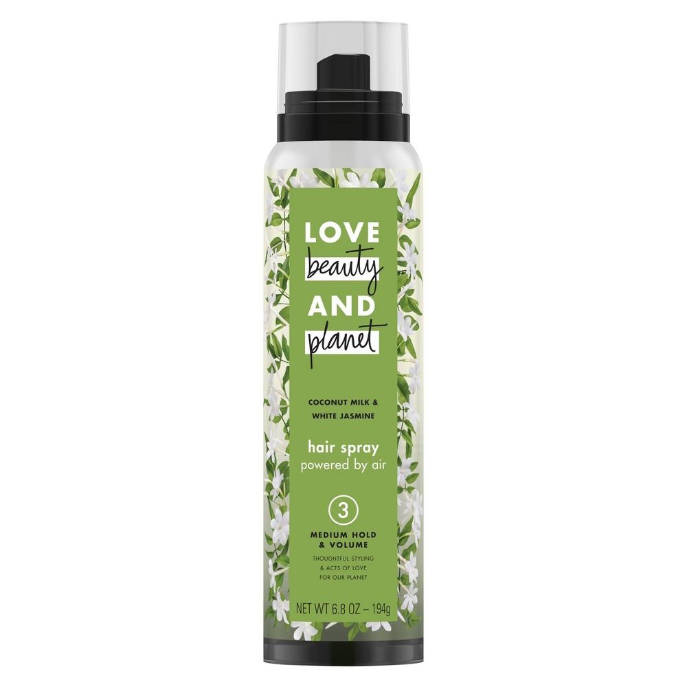 Love Beauty & Planet Coconut Milk and White Jasmine Medium Hold and Volume Hair Spray - 6.8oz