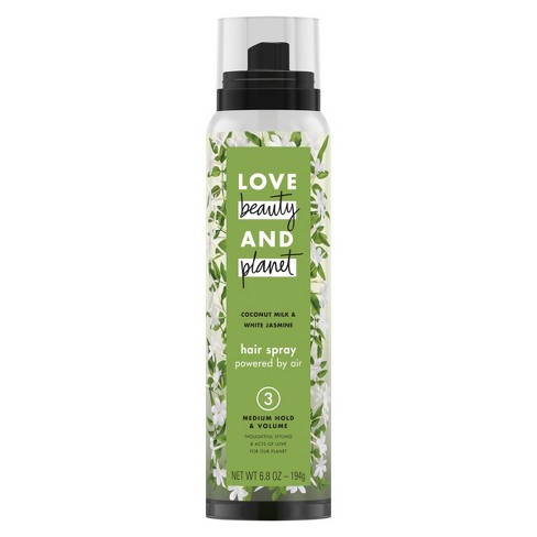 Love Beauty and Planet Coconut Milk & White Jasmine Medium Hold & Volume Hair Spray
