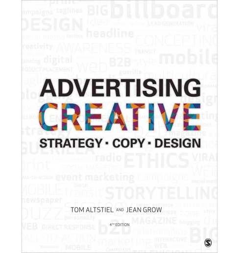 Advertising Creative : Strategy - Copy - Design (Paperback) (Tom Altstiel & Jean Grow) - image 1 of 1