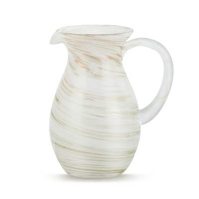DEMDACO White and Gold Pitcher White