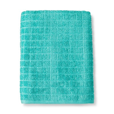 Bath Towels And Washcloths Sunbleached Turq - Room Essentials™