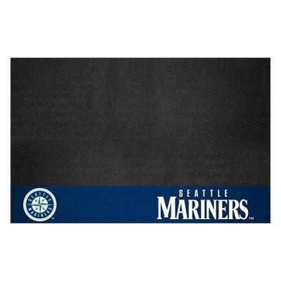 "MLB Seattle Mariners 26""x42"" Grill Mat"