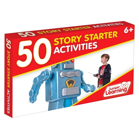 Junior Learning® 50 Story Starter Activities Learning Set - image 1 of 3
