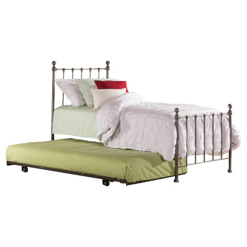 Molly Metal Bed with Trundle - Hillsdale Furniture - image 1 of 2