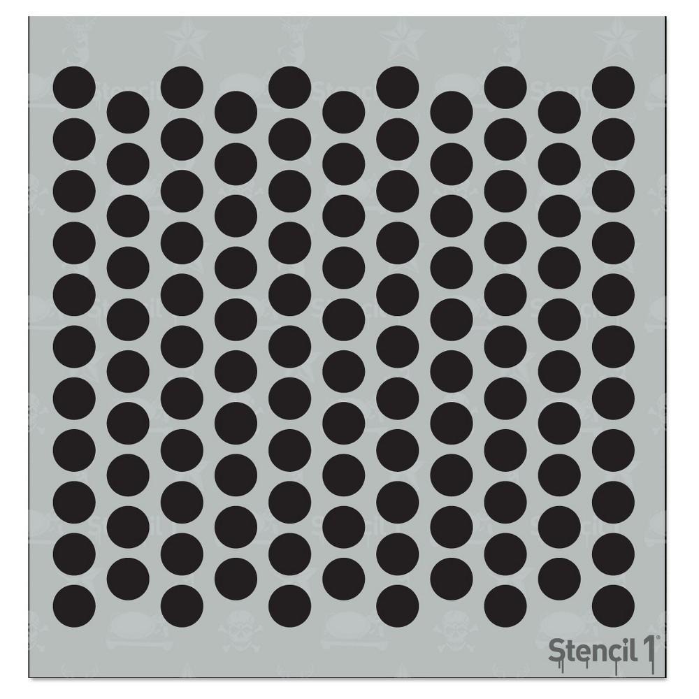 Stencil1 Dot Repeating - Stencil 5.75