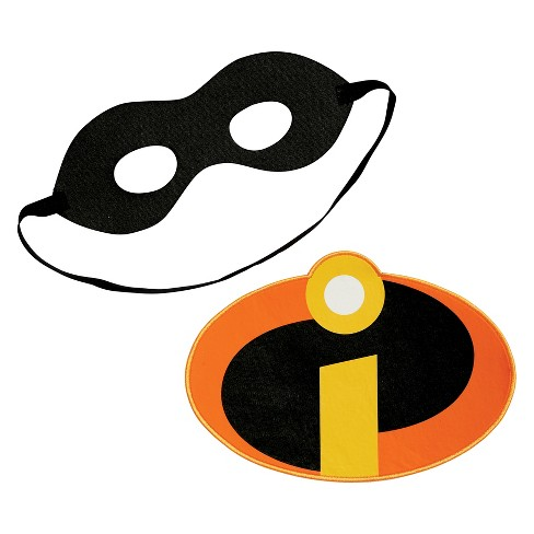Adult The Incredibles 2 Adhesive Patch and Eye Mask Halloween Costume Kit - image 1 of 3