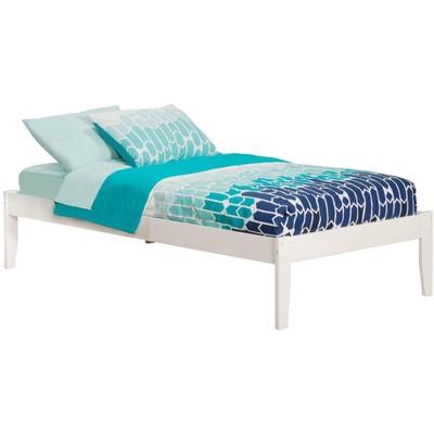 Concord Twin XL Bed in White - Atlantic Furniture