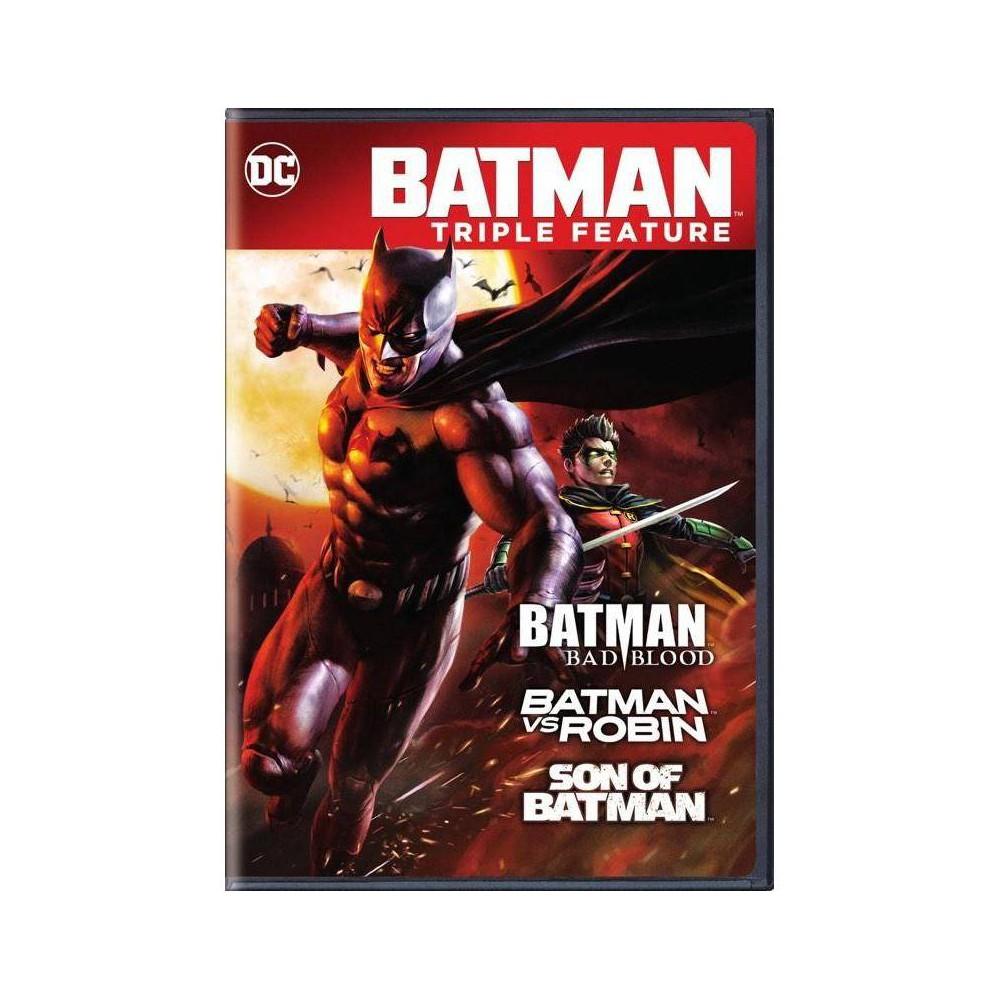 Batman Triple Feature Dvd 2018