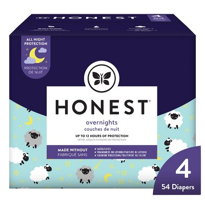 The Honest Company Overnight Diapers - (Select Size and Pattern)