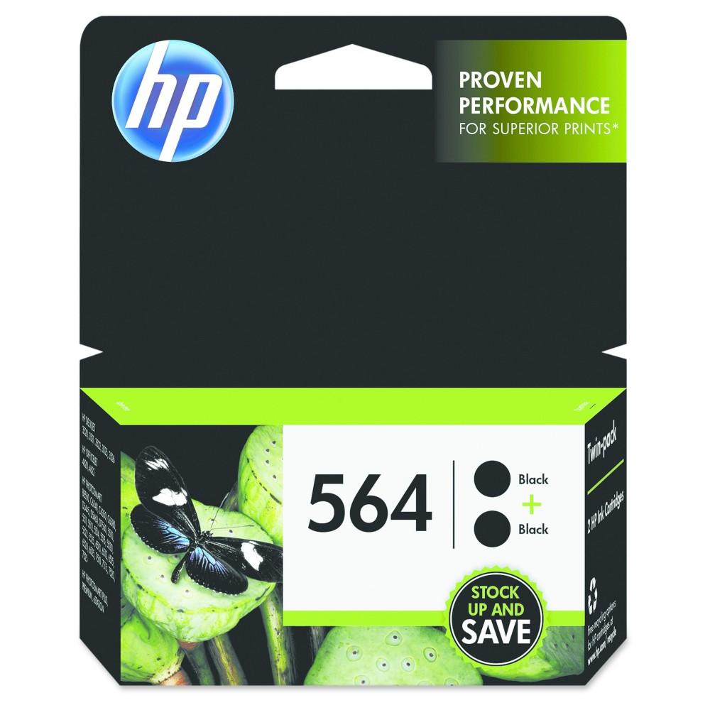 Black Cartridge Hewlett-Packard 2 Number Of Cartridges Black