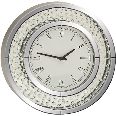 "River Parks Studio Cielo Mirrored 20"" Round Wall Clock"